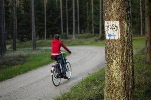 Szlaki rowerowe Pojezierze Drawskie