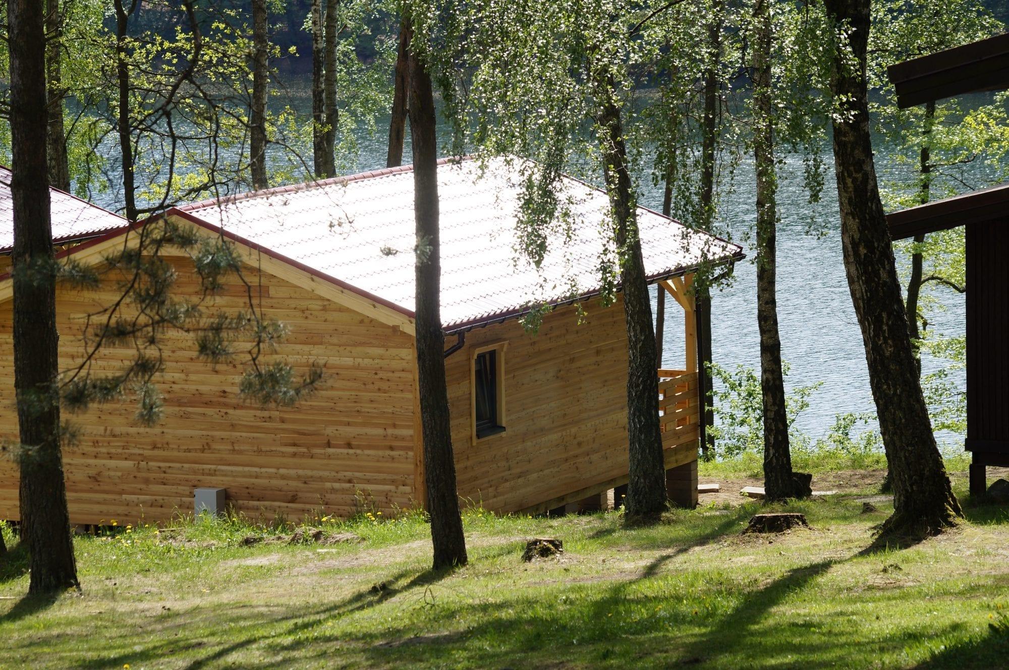 Domek jezioro Drawsko
