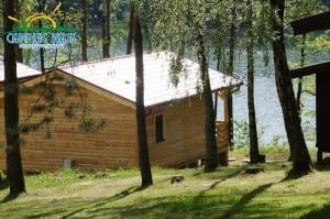 Jezioro Drawsko Domek